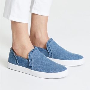 NWT Kate Spade Lilly Denim Slip-On Shoes